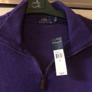 Polo French rib knit